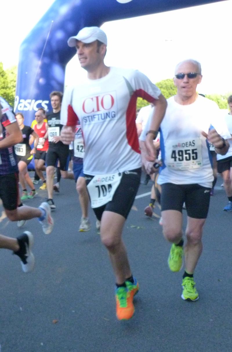 CIO Charity Run 2021 Läufer
